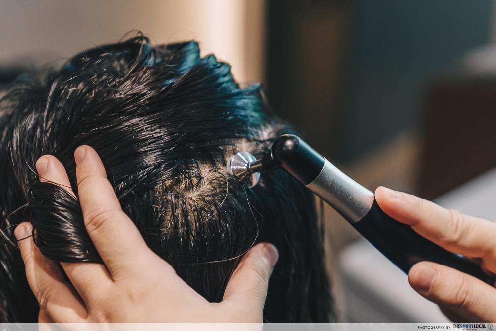 Thin hair treatment