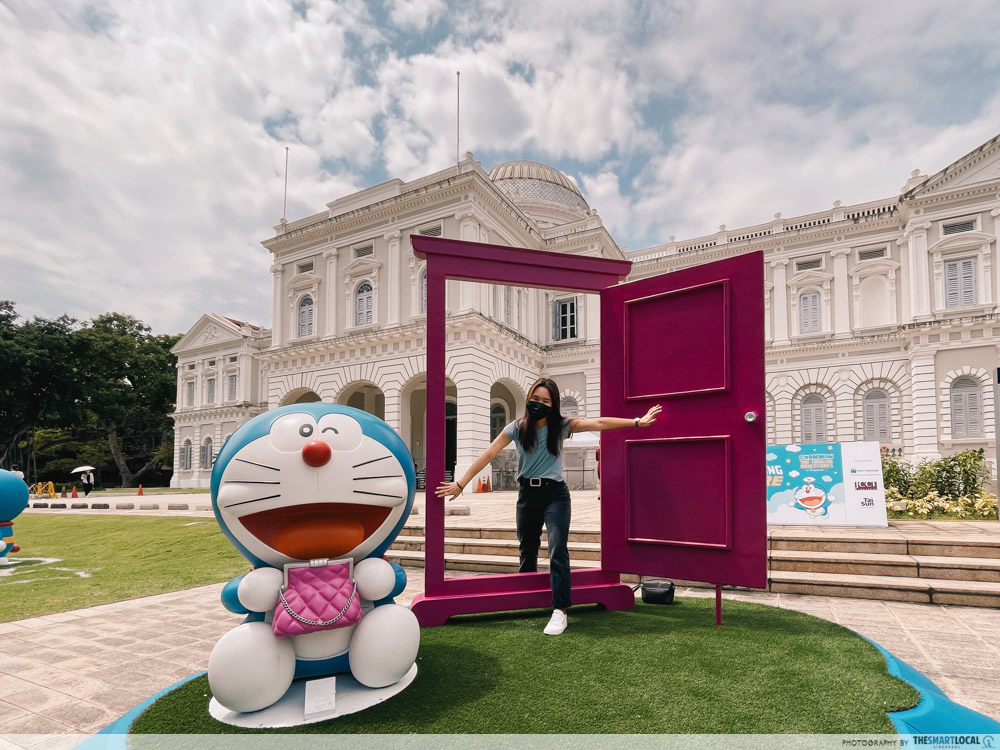 things to do november 2020 - Doraemon at national museum