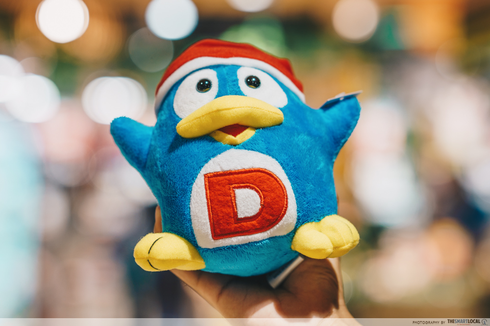 things to do november 2020 - redeem a free don don donki donpen plushie
