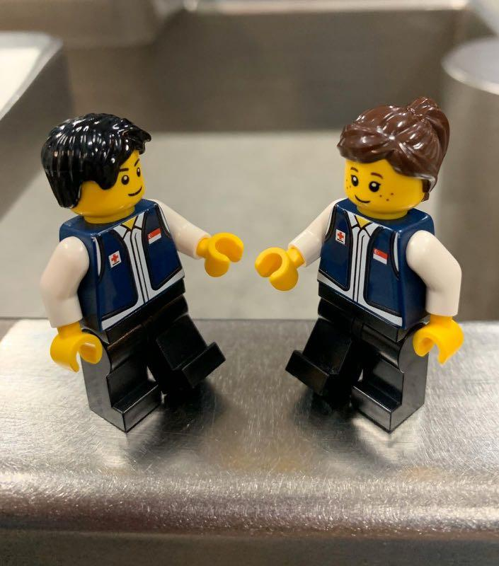 limited edition red cross lego merchandise