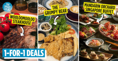 1-for-1 food deals in Singapore 2020
