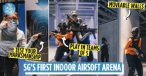SG's First Airsoft Arena Opens At HomeTeamNS Khatib, Is A Call Of Duty PvP Battle In Real Life