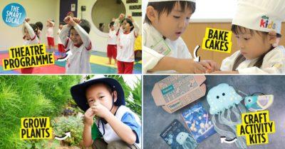 Kids Classes Activities in Singapore