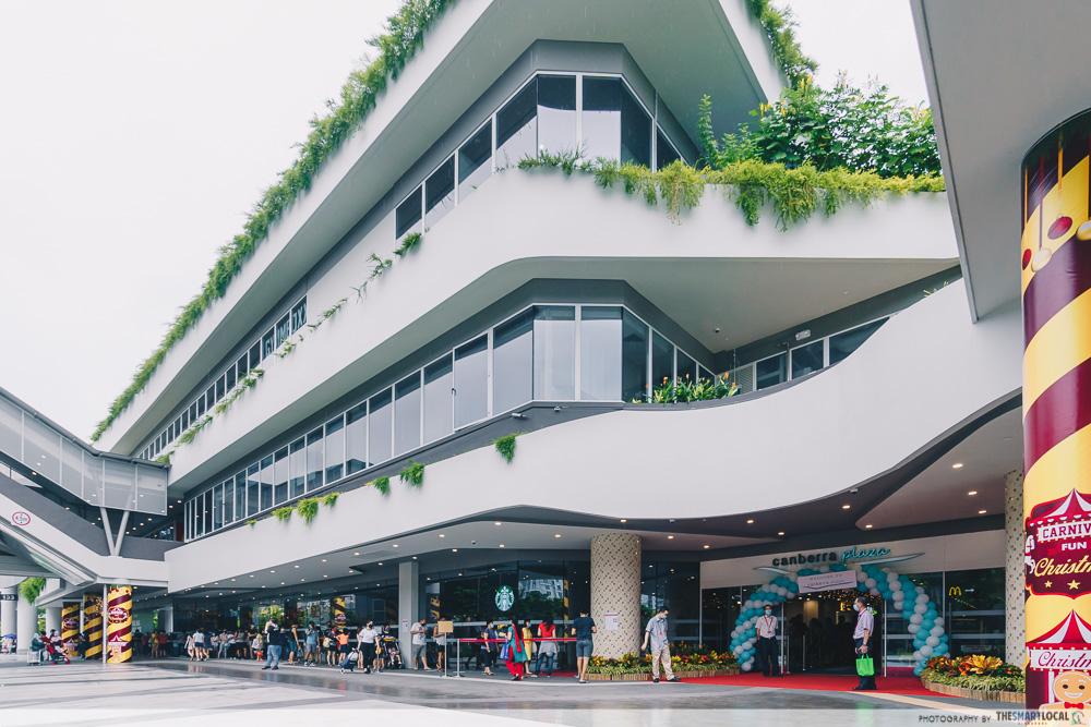 canberra plaza singapore exterior