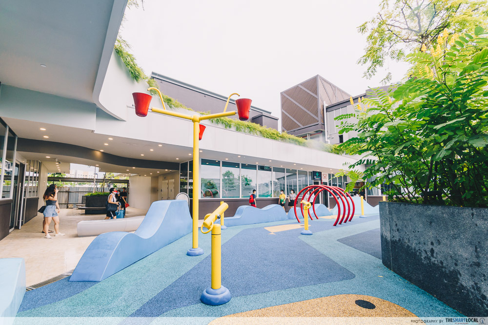 water play park at canberra plaza
