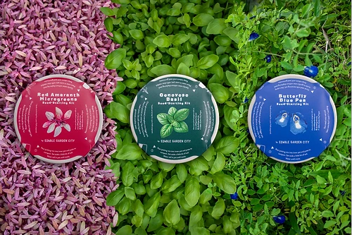 Citizen Farm Edible Garden City RGB Grow Kit