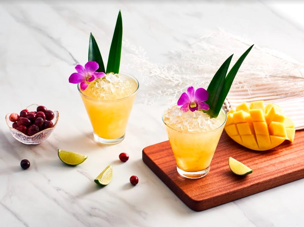 Mango drink by Kiki's Reserve