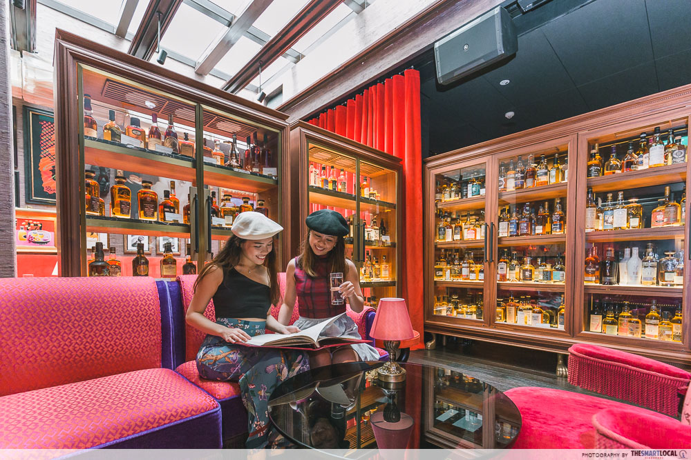 Hotel Vagabond - Whiskey Library, France in Singapore