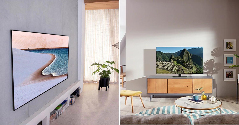 samsung and lg TVs