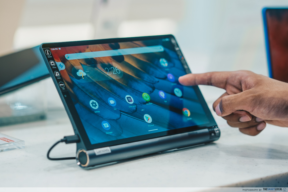 lenovo yoga tablet, gain city tech show 2021