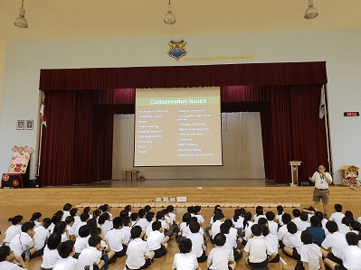Singapore School Hall Assembly