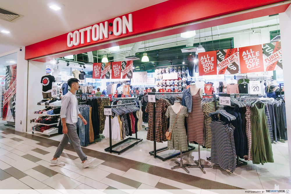 Cotton On up to 50% off January 2021 deals