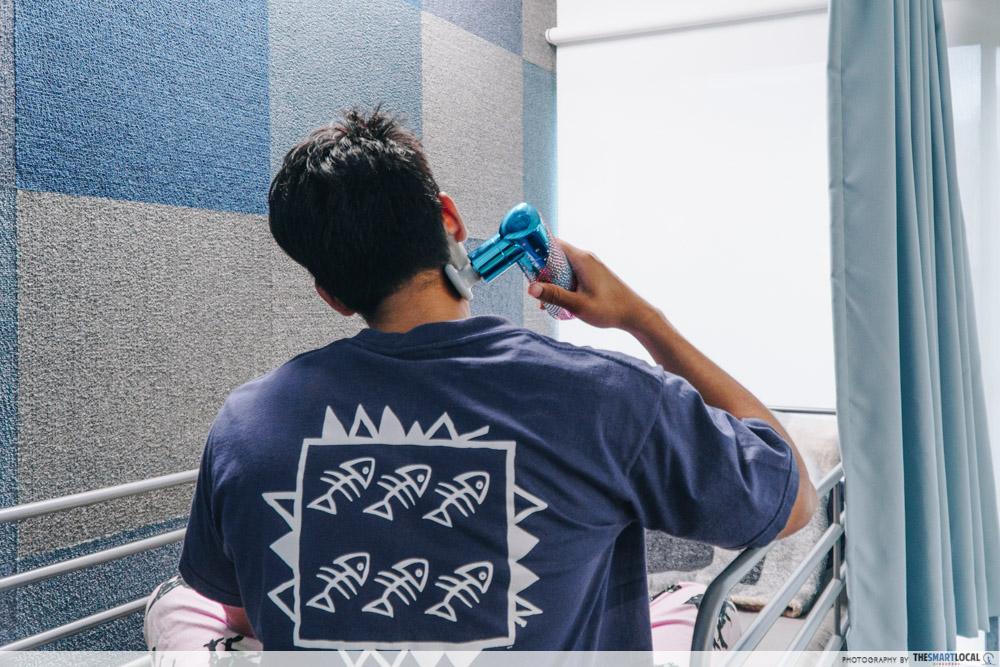 Lister Massage Gun Singapore for Insomnia Sleep Quality