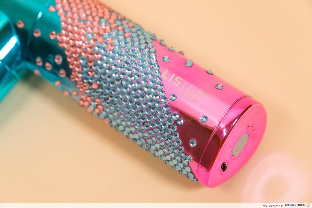 Lister T-Mini Massage Gun - Swarovski Crystal Limited Edition