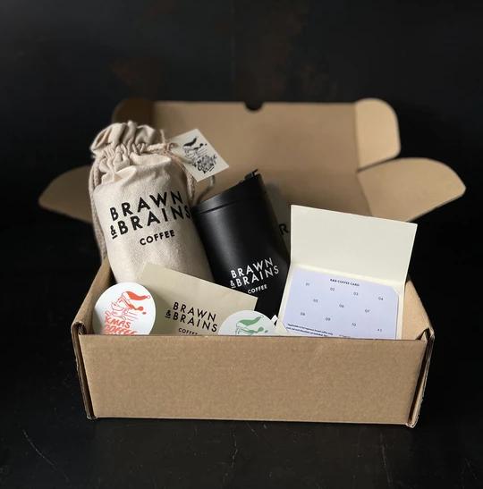 Brawn and Brains Gift Set