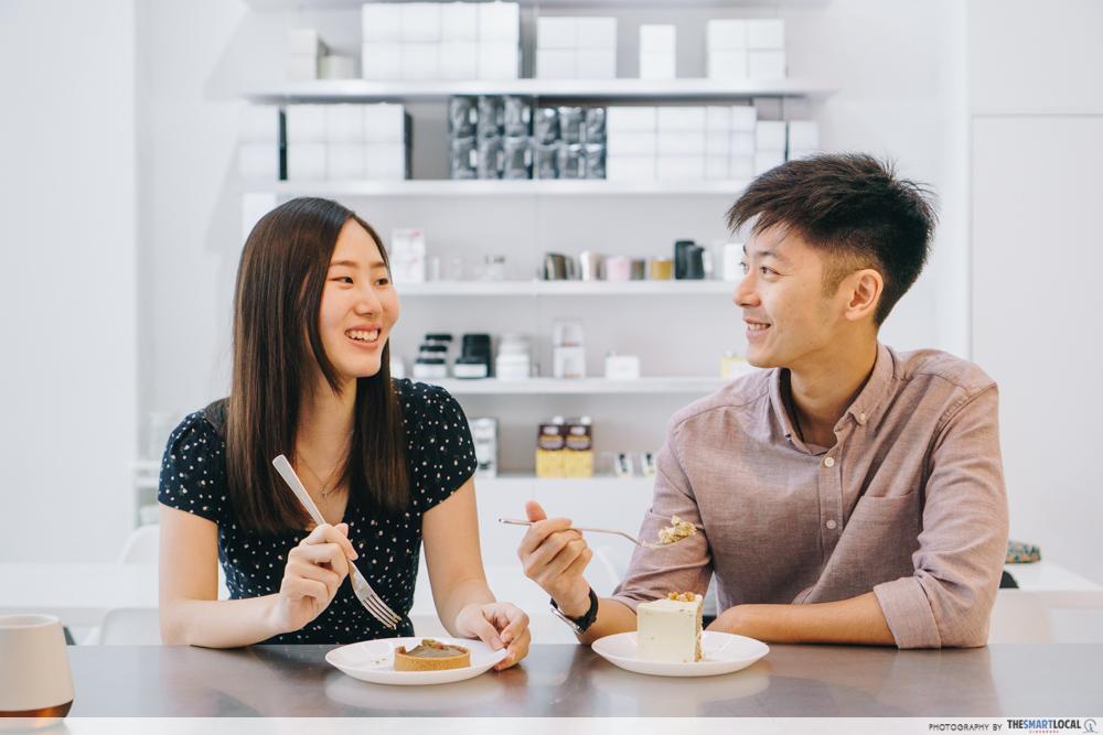 minimalist cafes singapore - christmas gatherings