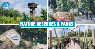 nature reserves singapore