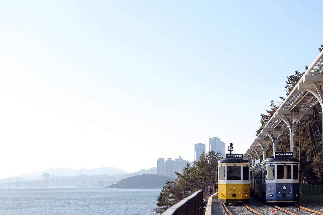 Things to do in Korea - Haeundae Beach Train and Sky Capsule
