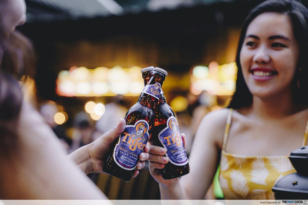 Tiger Beer Bottles