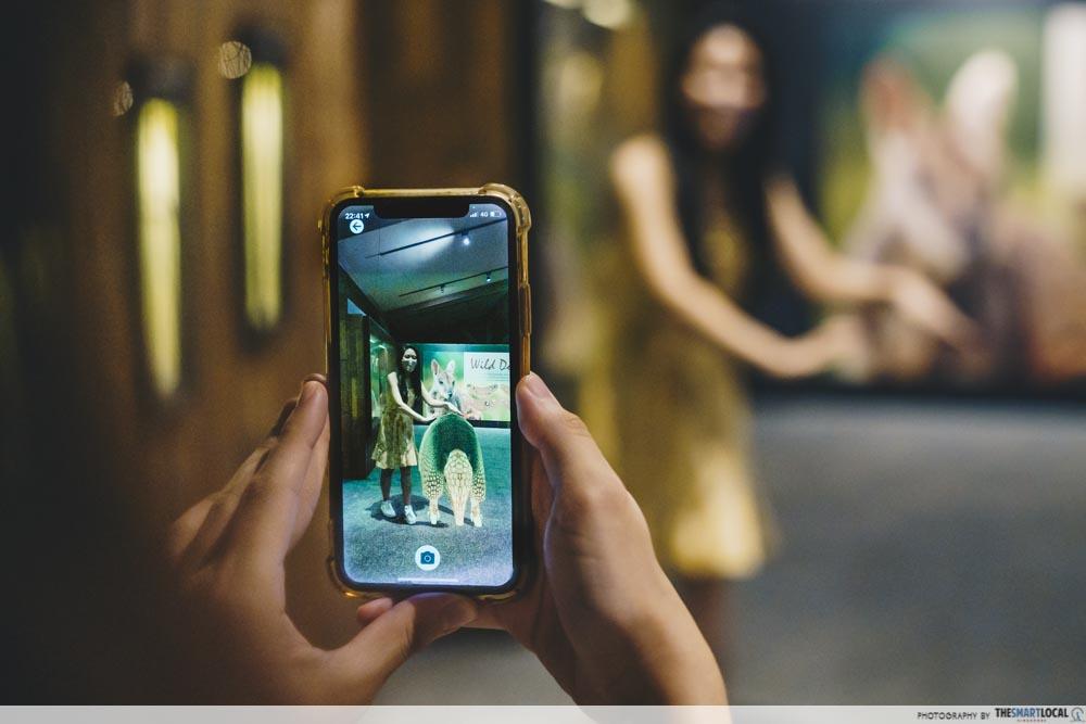 Augmented Reality Animals - Armadillo Breadcrumbs App