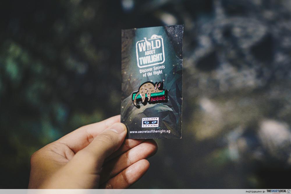 Wild About Twilight - Free Aardvark Pin