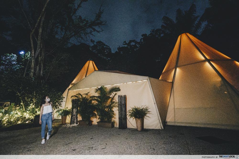 Night Safari Tipi Tent