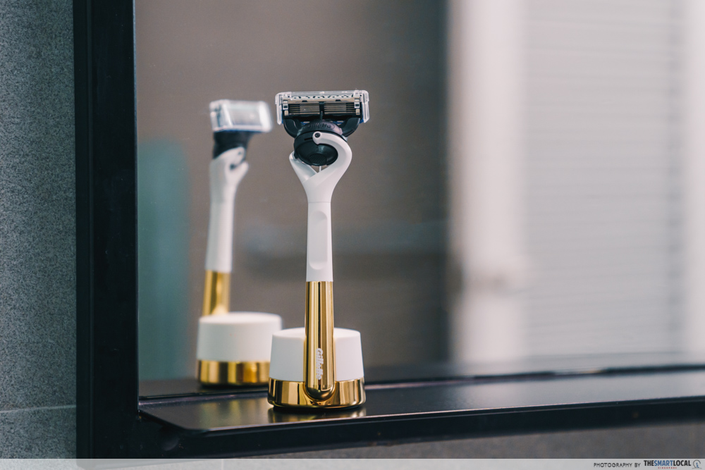Practical Christmas Gifts - Gillette Limited Edition Gold Razor