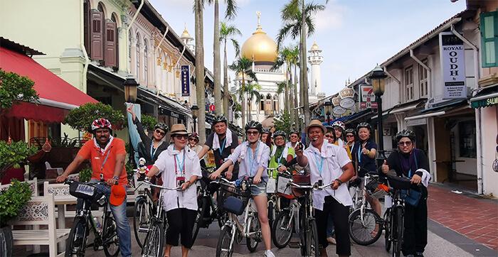 unique singaporediscovers tours: Trails of Tan Ah Huat Bicycle Tour