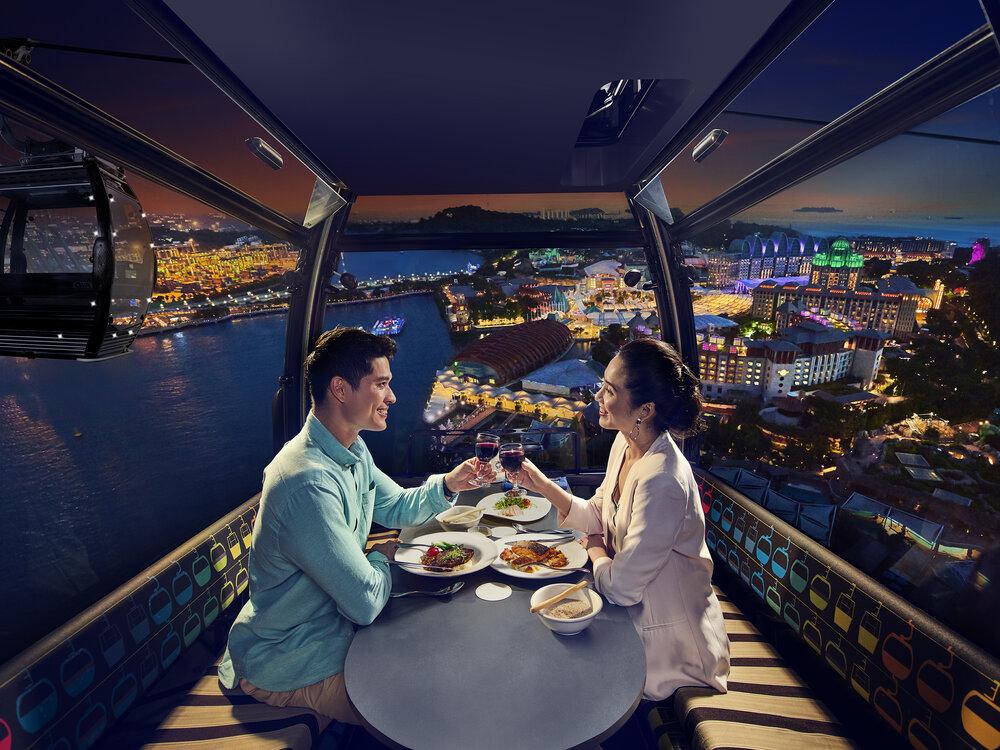 SingapoRediscovers Voucher Ideas - Cable Car dining