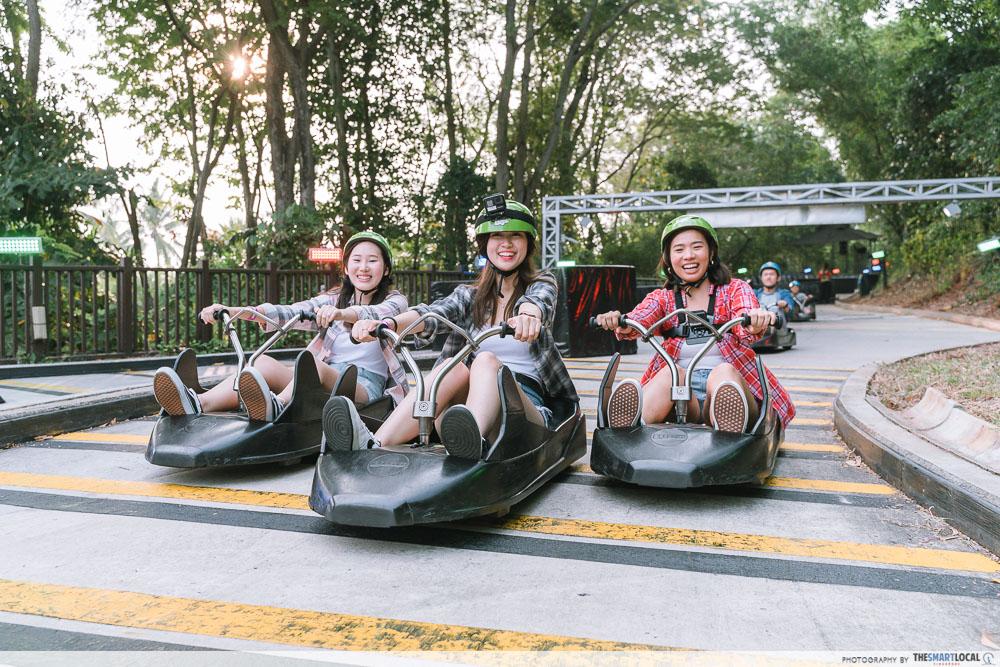 SingapoRediscovers Voucher Ideas - Sentosa luge