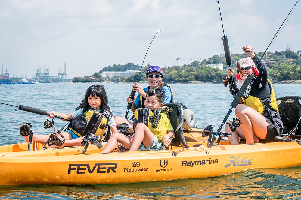 Kayak Fishing Fever Singapore