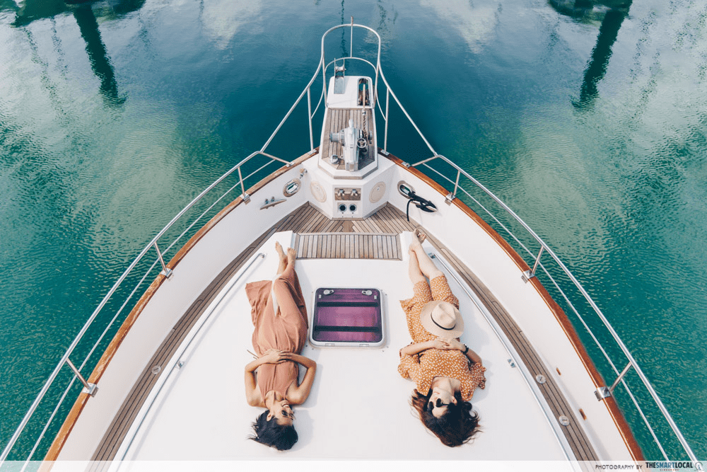 singaporediscover voucher adventures - Southern Islands on a yacht
