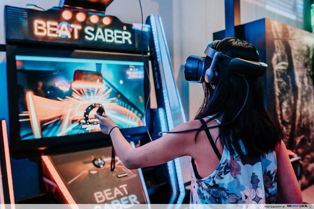 Beat Saber at Headrock VR