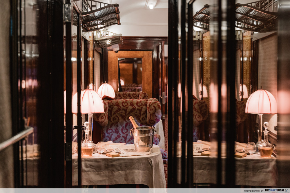 The Orient Express - Pullman carriage