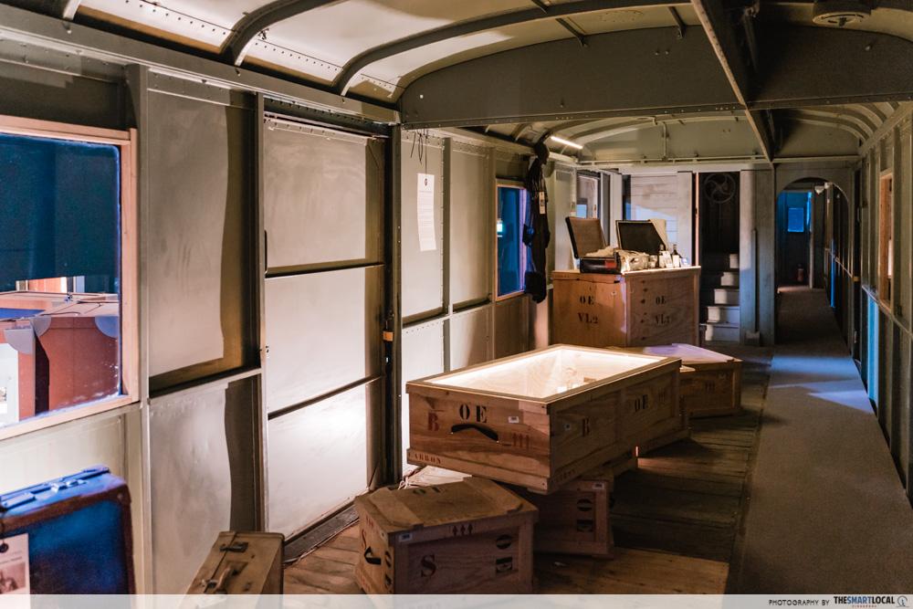 Fourgon carriage