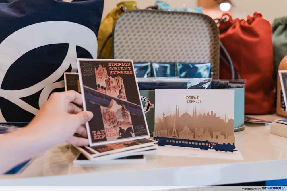 The Orient Express - postcard