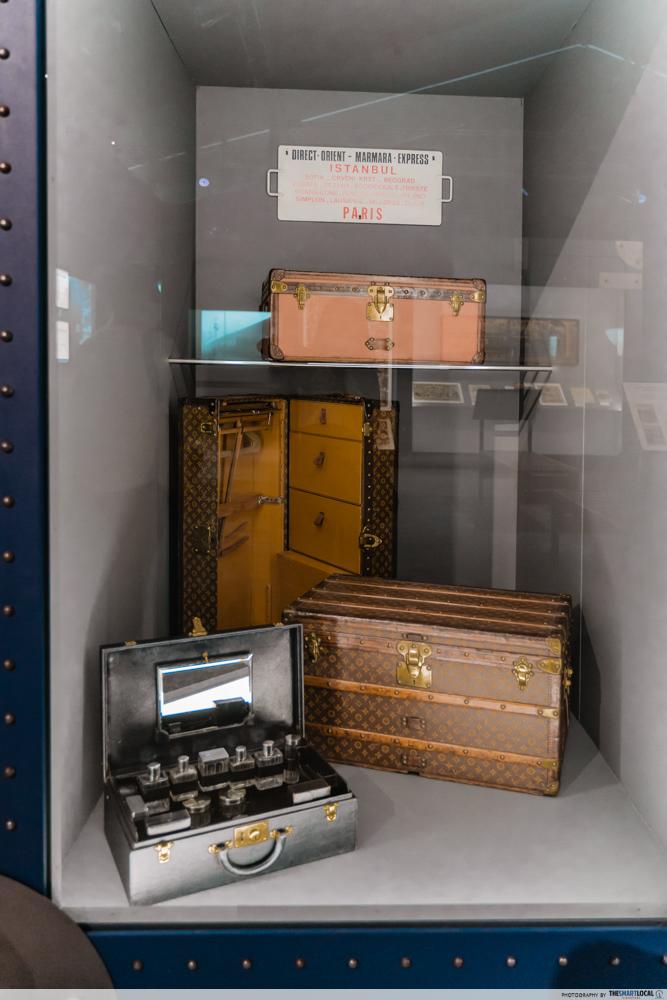 Louis Vuitton luggage cases