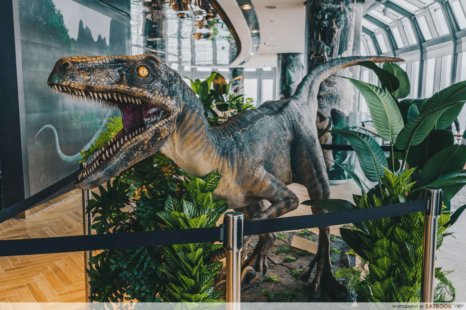 jurassic world cafe, things to do december 2020