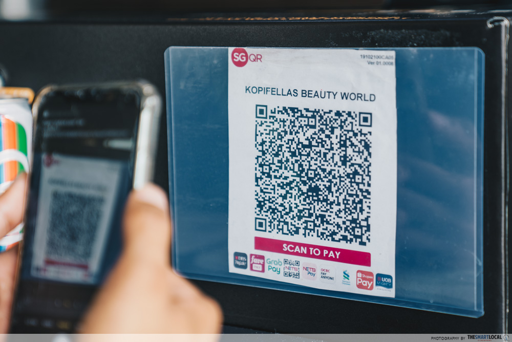 sgqr codes powered by nets to go cashless