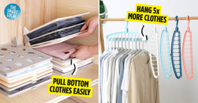Cheap Wardrobe Organisers in Singapore