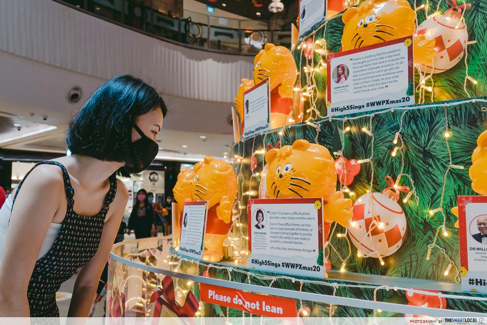 Singa Lion Themed Christmas Tree