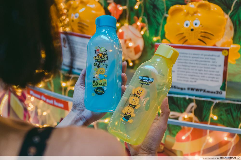 Singa the Kindness Lion Eco Bottle Merch