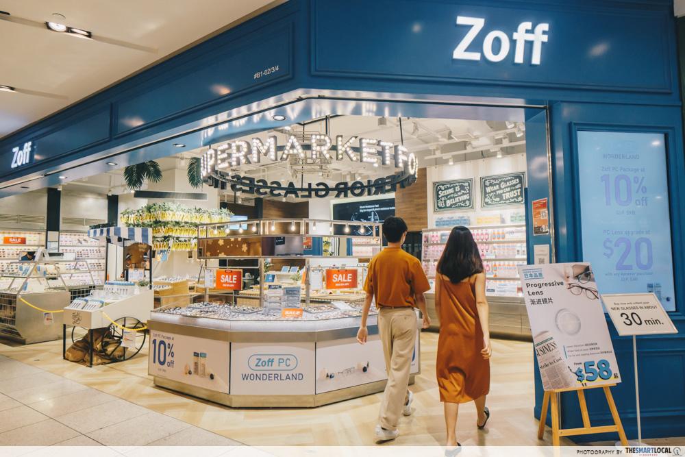 Zoff store