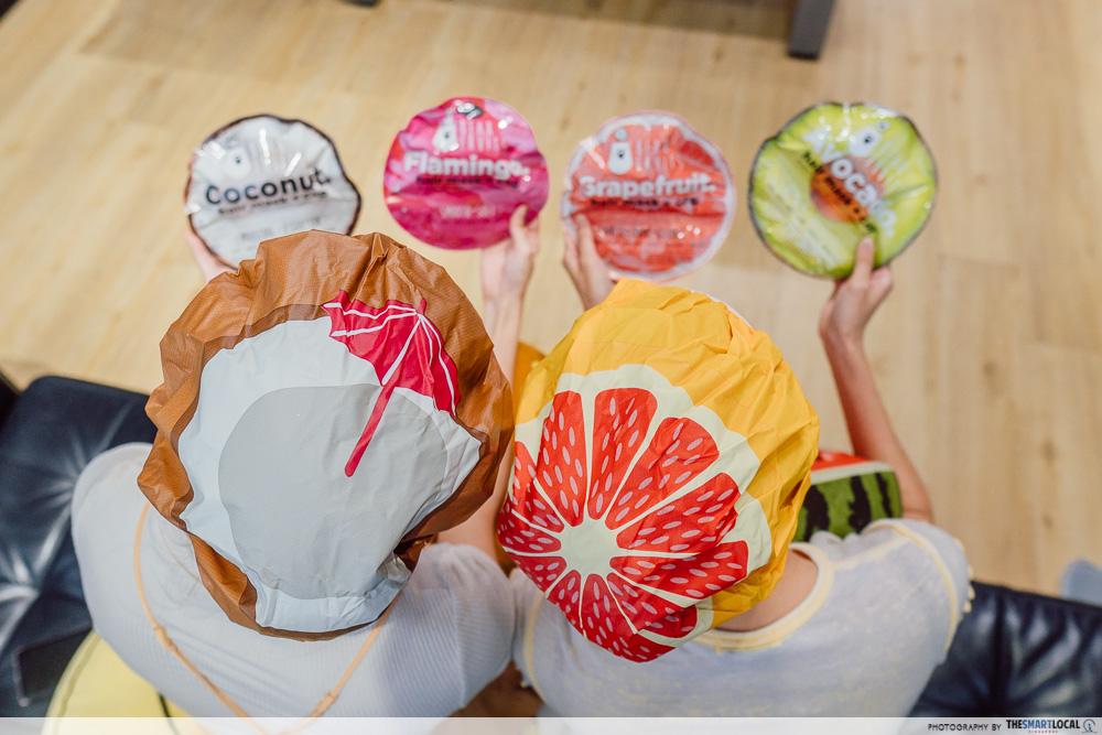 Bear Fruits hair masks