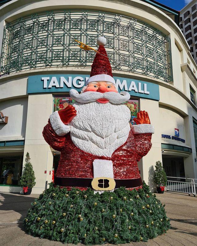 christmas 2020 - santa at tanglin mall