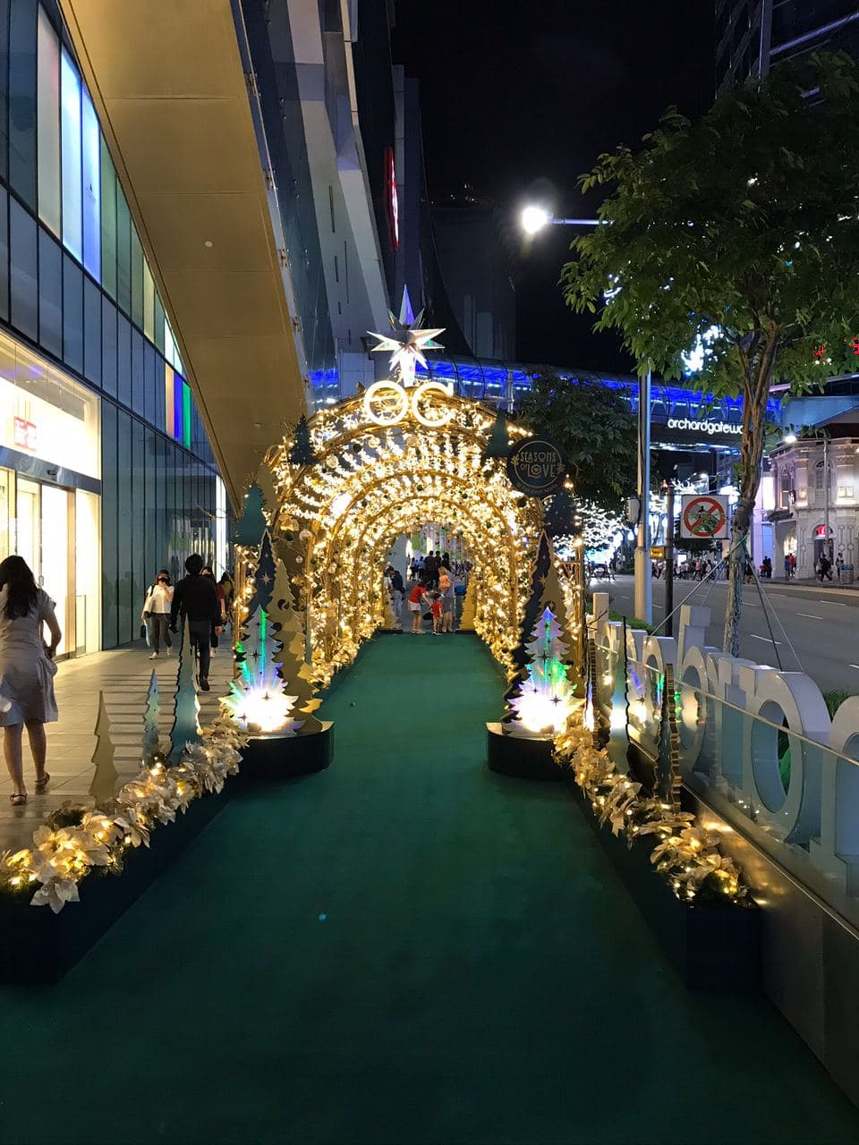 christmas 2020 - orchard central lightup