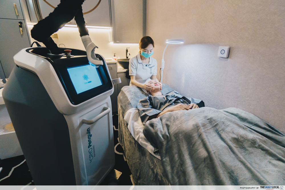 cryotherapy crypenguin machine