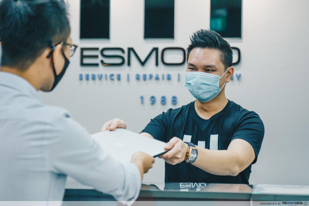 esmond service centre - esmond repairing macbook