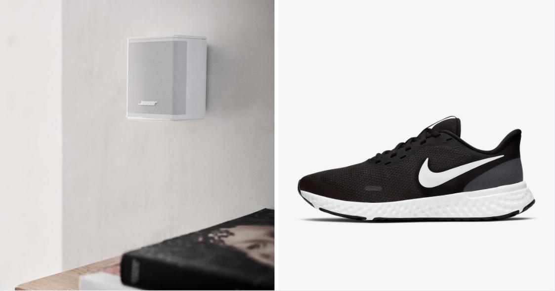 Lazada 12.12 sale - Bose & Nike