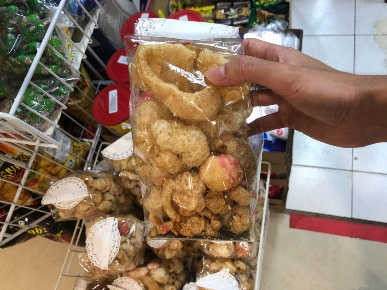 international-snack-shops - fried pork skin